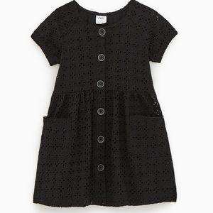 Black Embroidery Dress